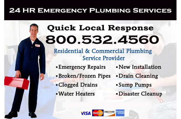 emergency plumbing services in Kittredge